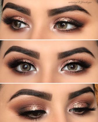GLAM BRIDAL LOOK