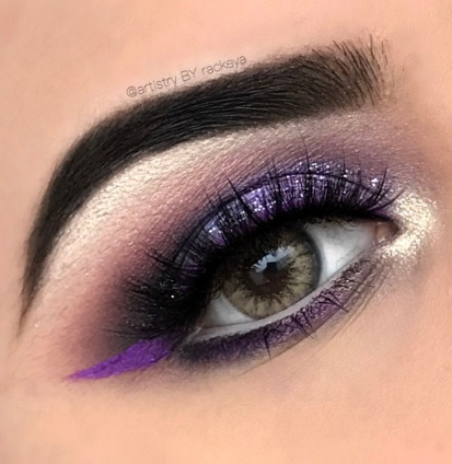 GLAM PURPLE LOOK