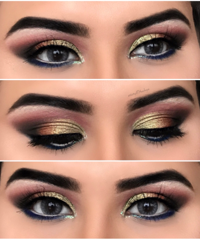 METALLIC TRI EYE