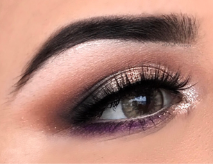 POP OF COLOUR BRIDAL EYE