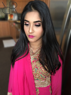 Rosey Shimmer Eye! - South Asian Toronto MUA