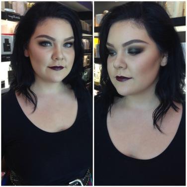 Metallic Smokey eye! - Toronto Makeup Artist