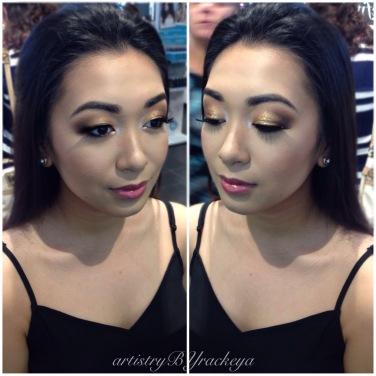 JLO bronze eye! - GTA Makeup Artist