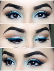 MONOCHROMATIC BLUE LOOK
