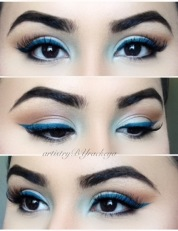 MONOCHROMATIC BLUE LOOK