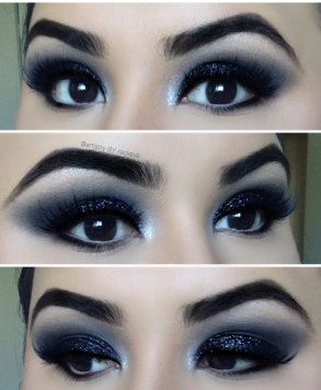 GLAM SOUTH ASAIN SMOKEY EYE