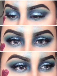 QUEEN OF HEARTS EYES CLOSE UP!