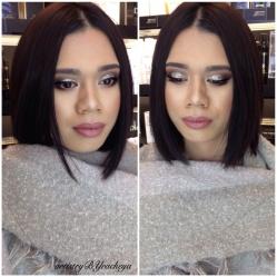 Glam Prom look! - GTA Makeup Artist